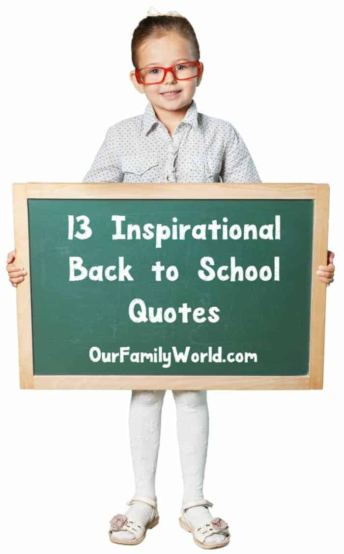 13 inspirational back to school quotes