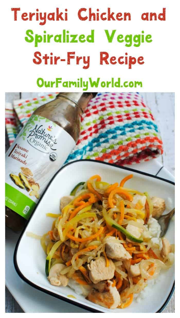 Feeding your family organic foods is easy thanks to Nature's Promise® at Giant! Check out this delicious Teriyaki Chicken & Veggie Stir-Fry recipe!