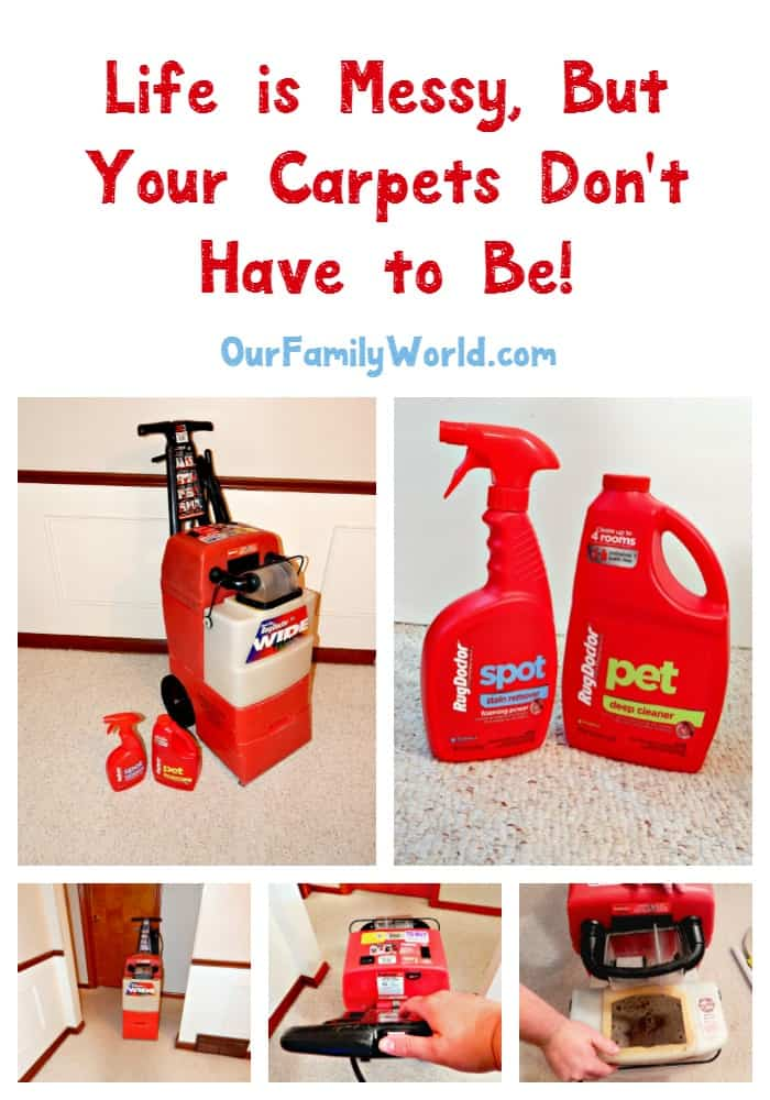 Carpets Like A Pro With Rug Doctor