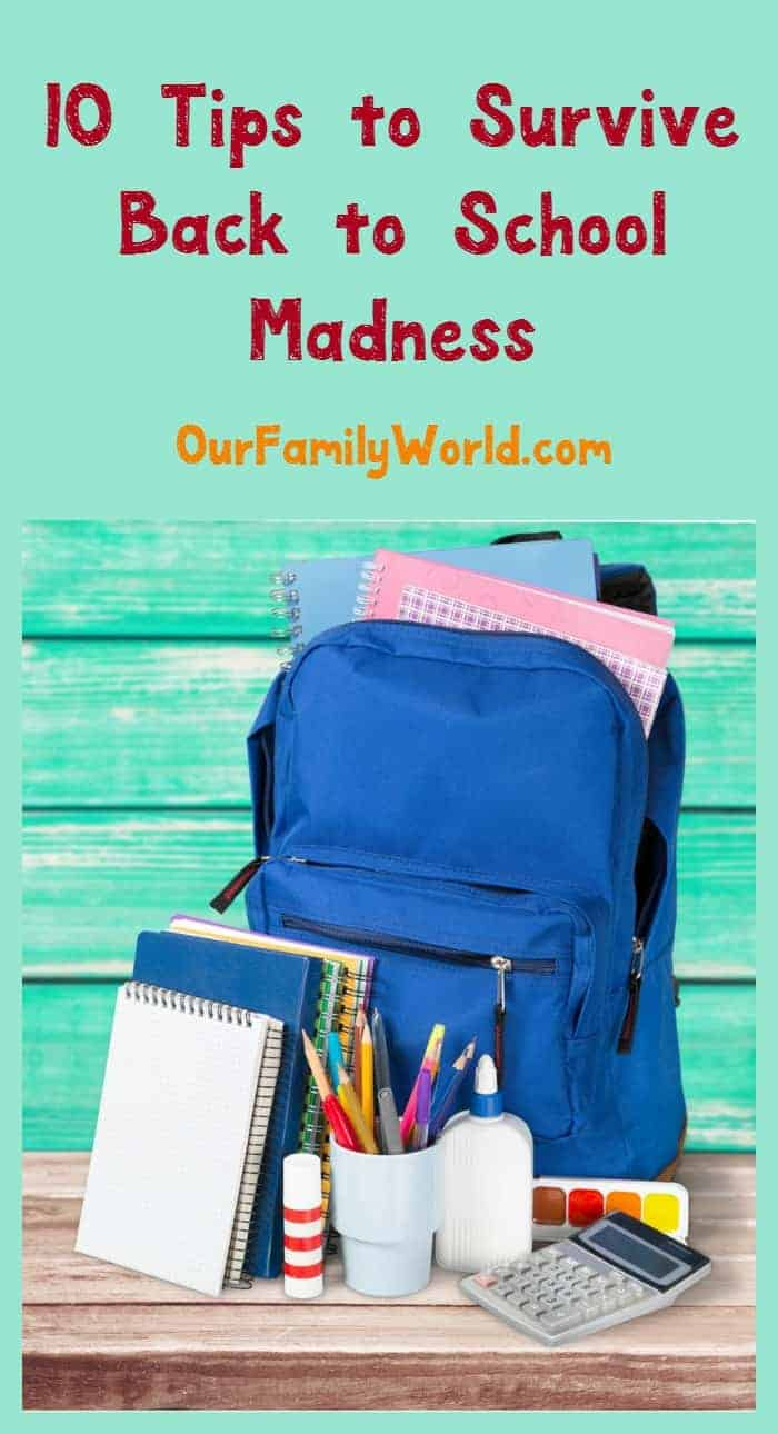 Tips Back to School Madness IOGO
