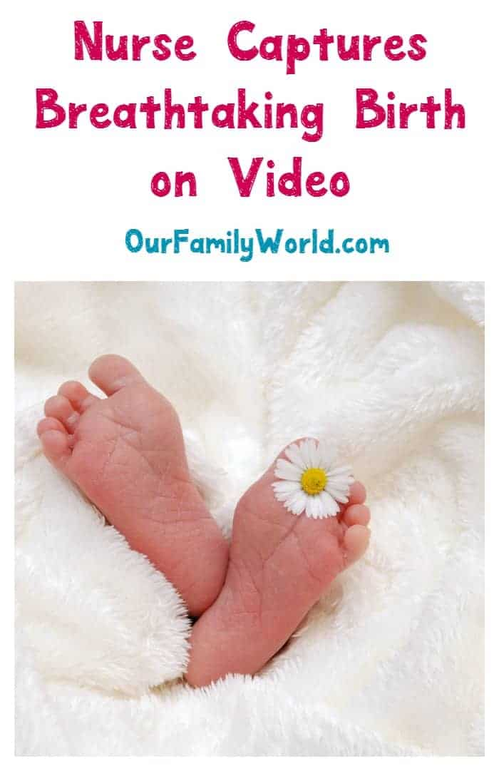 Have you seen this incredible video that a nurse captured of a baby born in the amniotic sac? What an amazing birth story! Check it out!