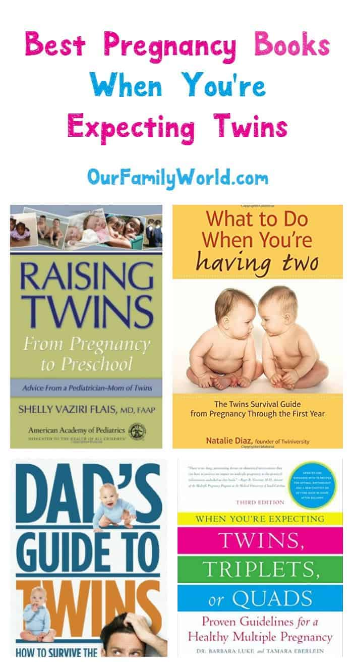 What do you expect when you're expecting two? Check out our favorite books about being pregnant with twins!