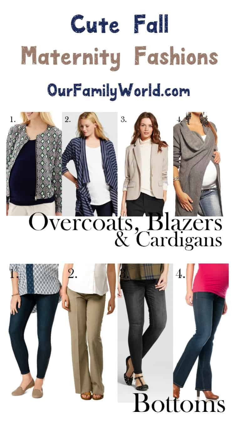 Time to put away the summer maternity clothes and start shopping pregnancy fall fashion! We have you covered from top to bottom with these 12 pieces!