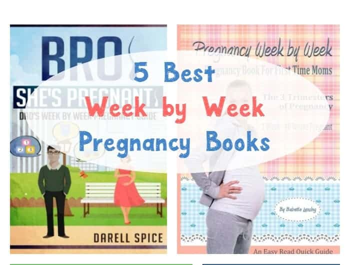 Looking for the best week by week pregnancy books so you can keep up with what's happening with your growing baby? Check out our favorites!