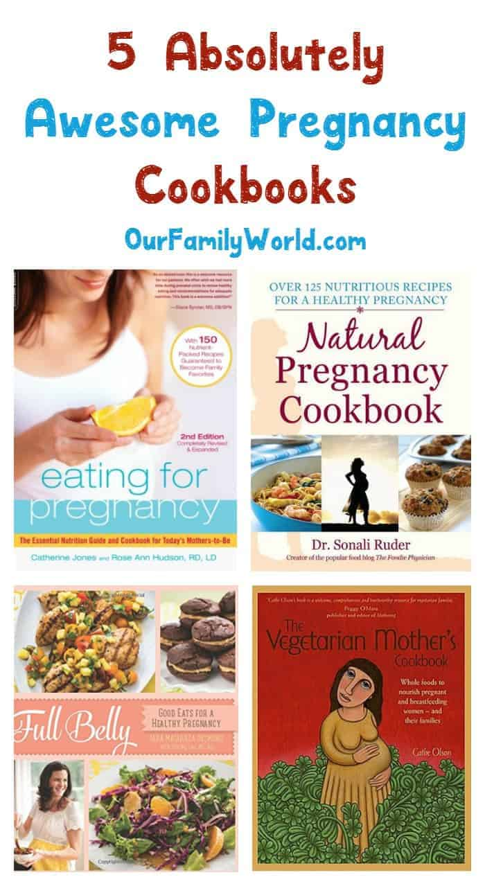 Nutrition is so important when you're expecting, but your cravings matter too! Check out 5 of the best pregnancy cookbooks that take both into account!
