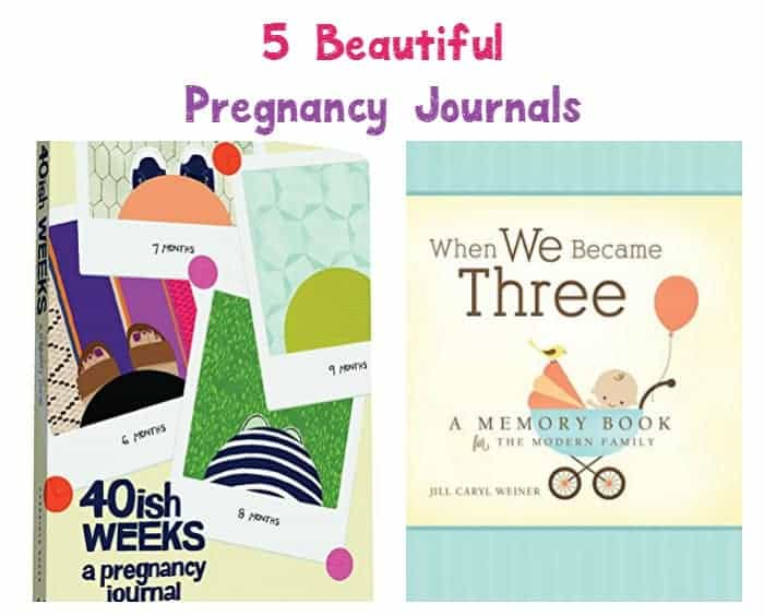 Five Of The Best Pregnancy Journal Books
