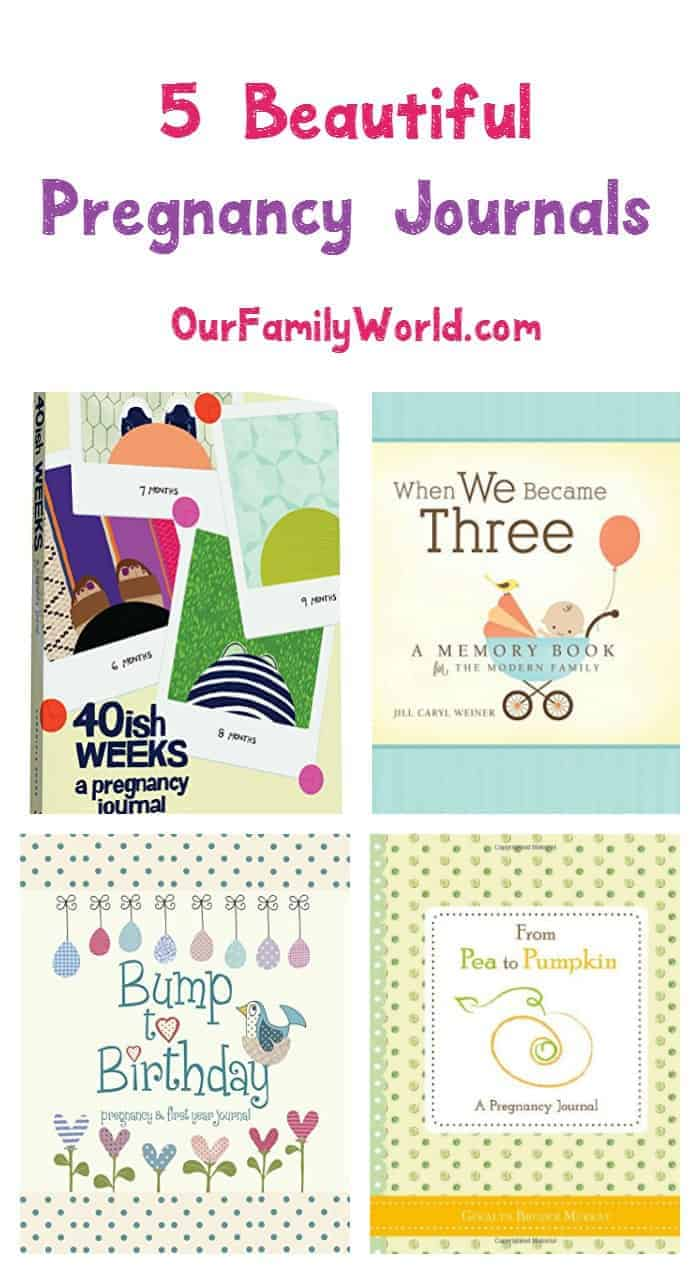 Check out our picks for 5 of the most beautiful pregnancy journal books & start capturing your favorite memories in words!