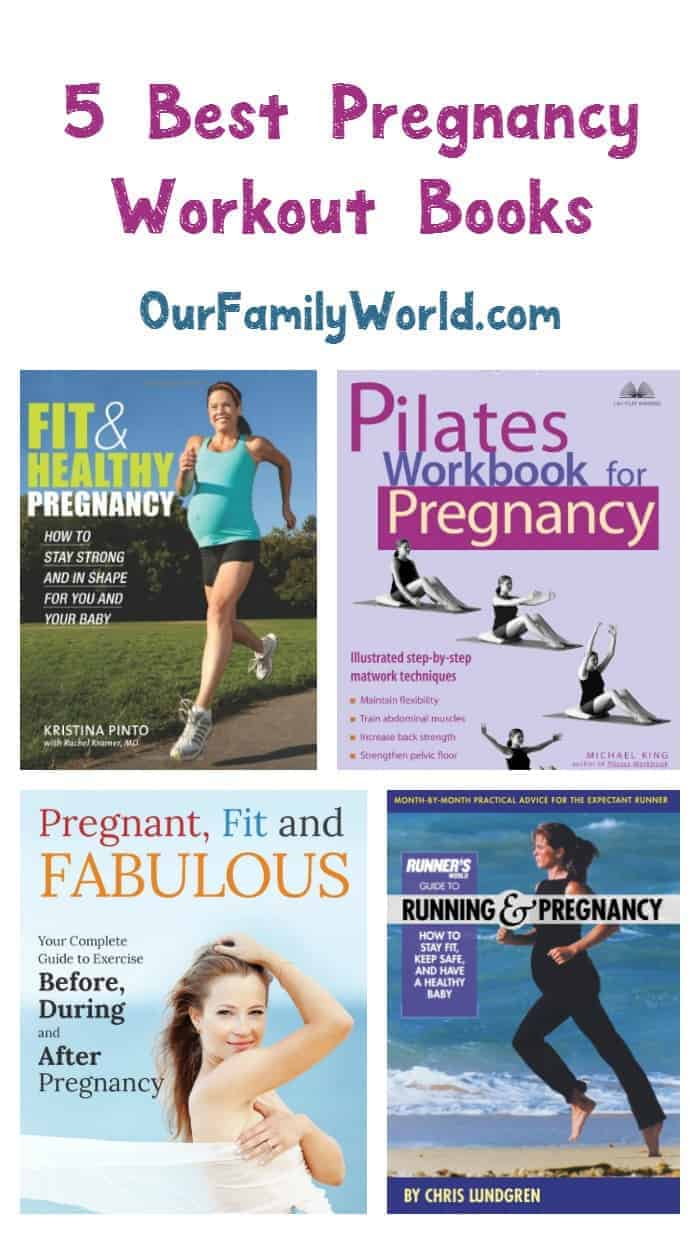 Looking for the best pregnancy workout books? Check out our top 5 picks that will help you stay a fit mama to be!