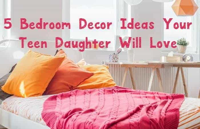 Looking for fabulous ways to redo your teenage girl's bedroom? Check out these five teen home decor ideas we found to help you get started.