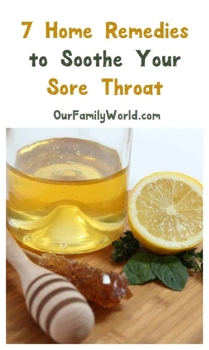 Home Remedies For Sore Throat That Work Fast