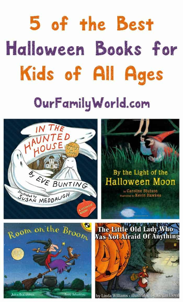 Looking for the best Halloween books for kids of all ages? We have you covered! Check out our top five picks!