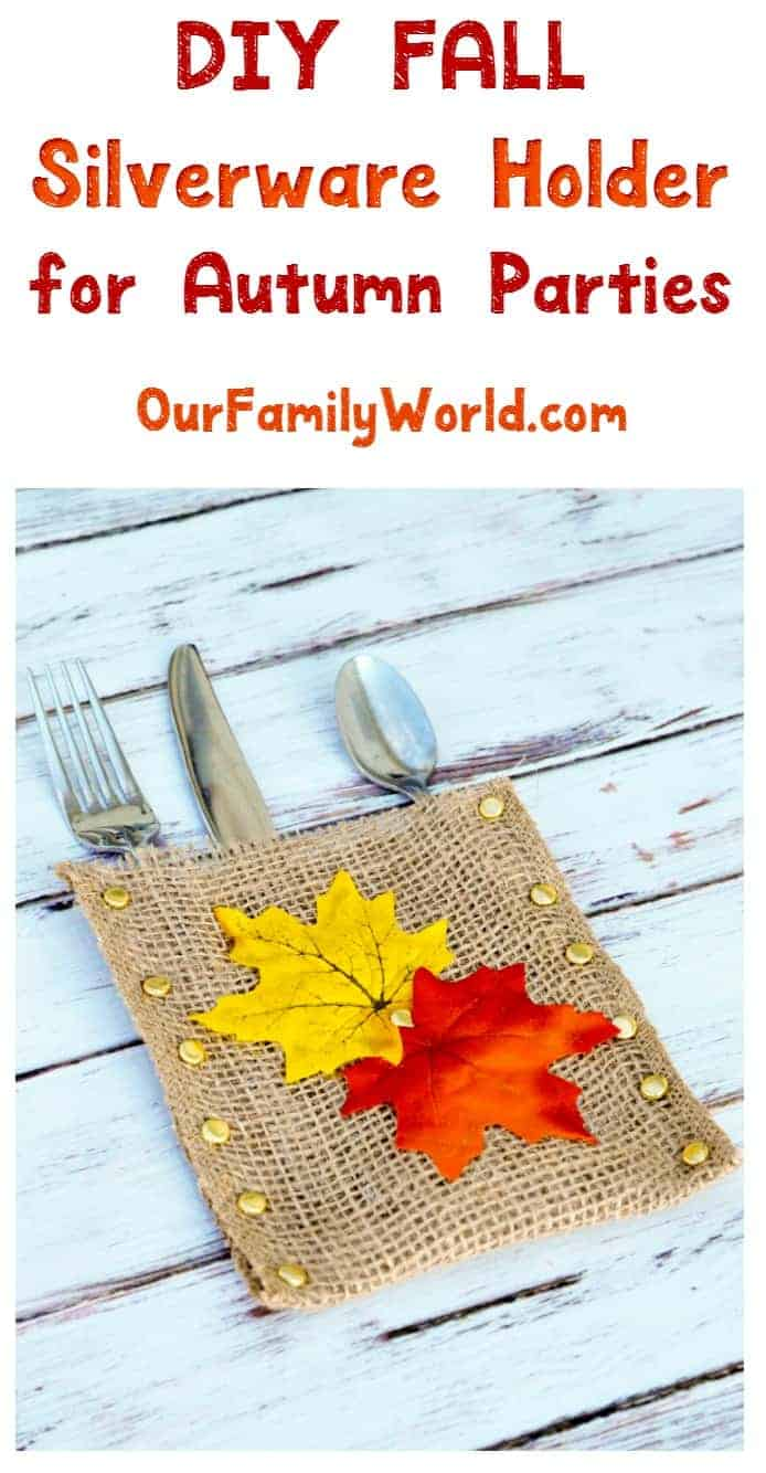 As part of our autumn place setting series, we present this incredibly easy yet classy DIY fall silverware holder. We even include printable instructions!
