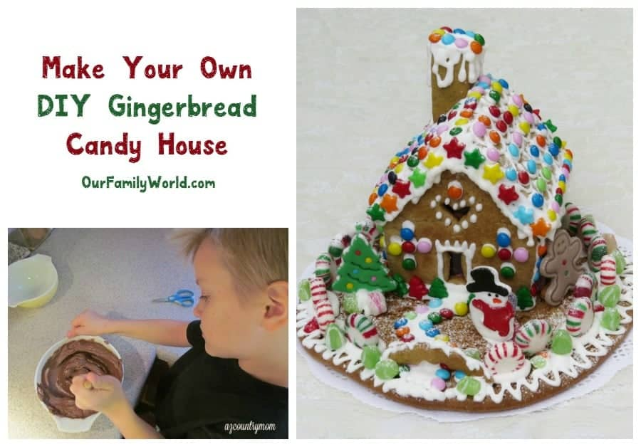 How To Make Your Own Diy Gingerbread Candy House
