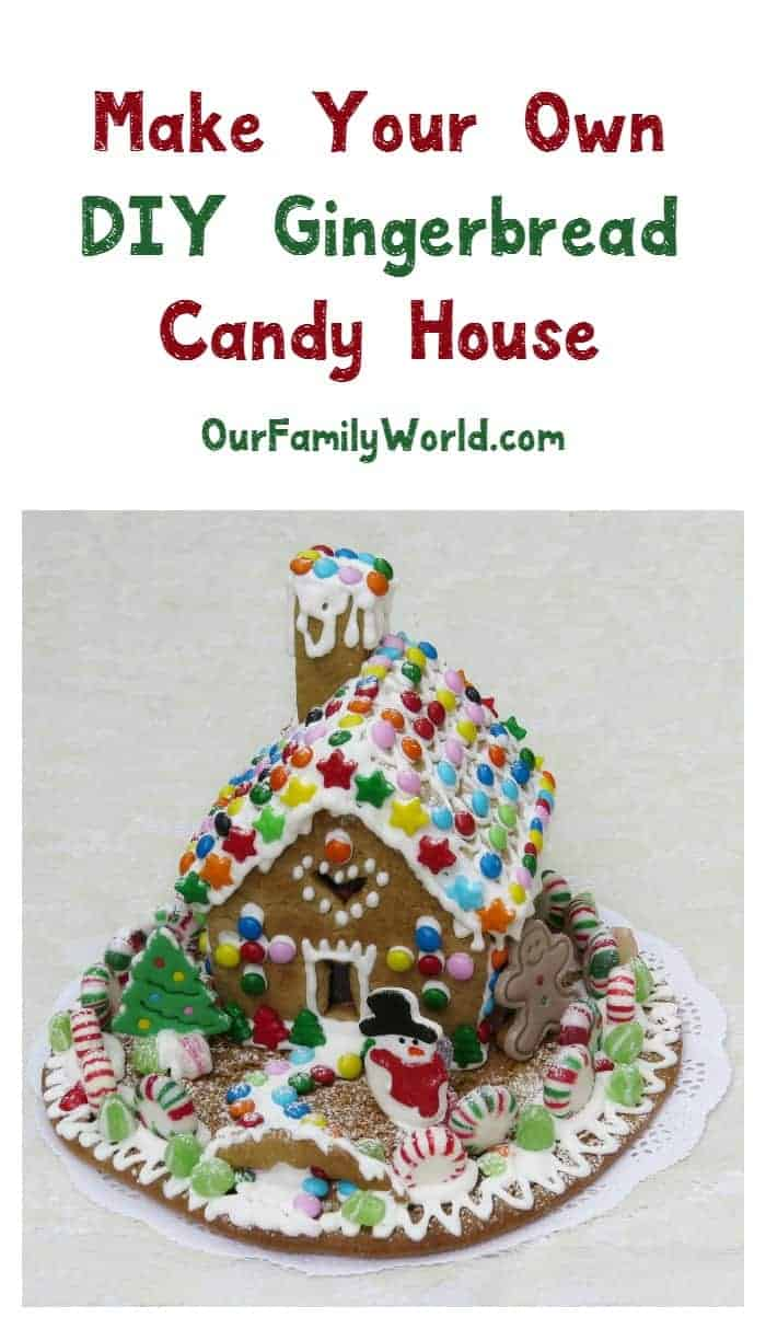 Want to make your own DIY gingerbread candy house but feeling a bit overwhelmed by the instructions? Check out this 14-step tutorial!