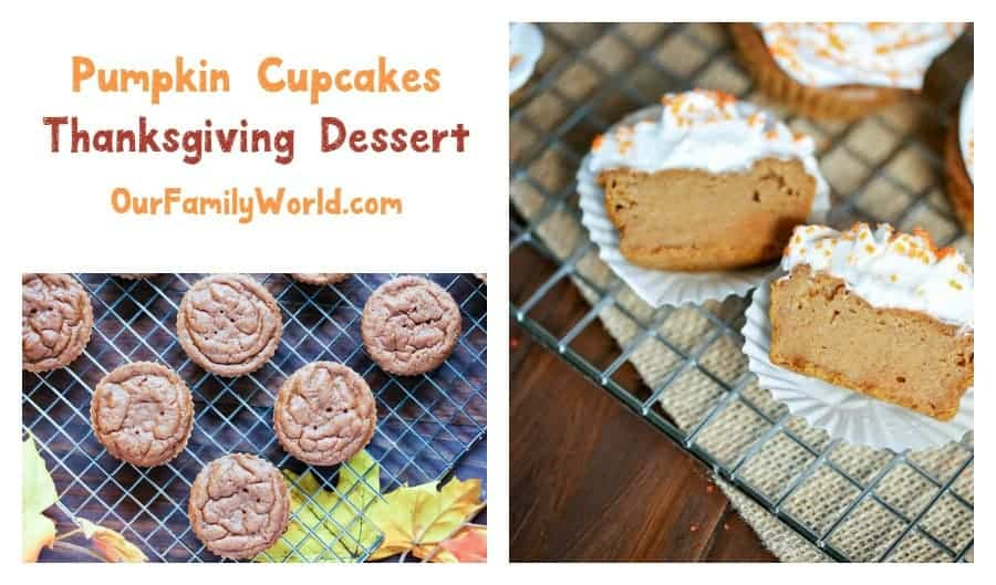 Delicious Thanksgiving Dessert Recipe: Pumpkin Cupcakes