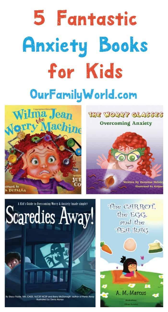 5 Great Anxiety Books For Kids To Read