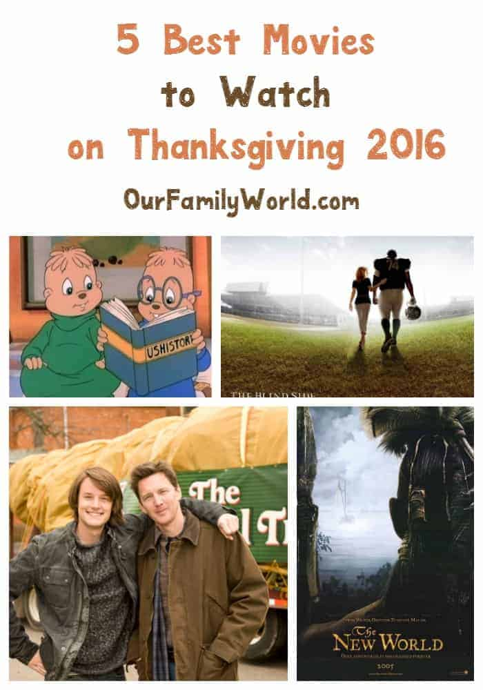 best movies to watch on thanksgiving 2016