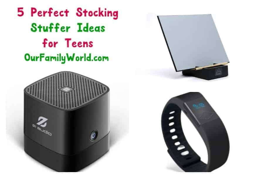 Looking for stocking stuffers for teens? Check out these 5 ideas and scratch at least one to-do item off your Christmas shopping list!