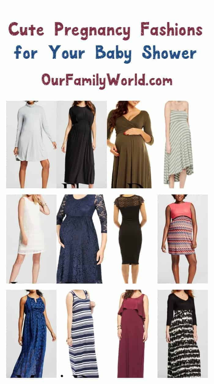 Cute Pregnancy Clothes to Wear For Your Baby Shower