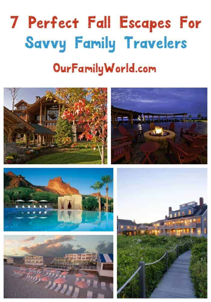 7 Perfect Fall Escapes For Your Family Vacatiob