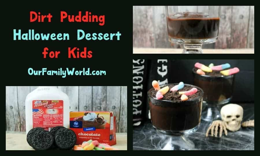 Dirt Pudding: A Fun Halloween Dessert for Kids
