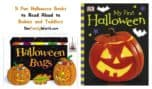 Looking for fun Halloween books for babies to read aloud to your littlest one? Check out our top 5 picks!