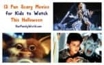 Looking for scary yet appropriate horror movies to watch with the kids this Halloween? Check out 13 picks that are spine-tingling without being horrifying!