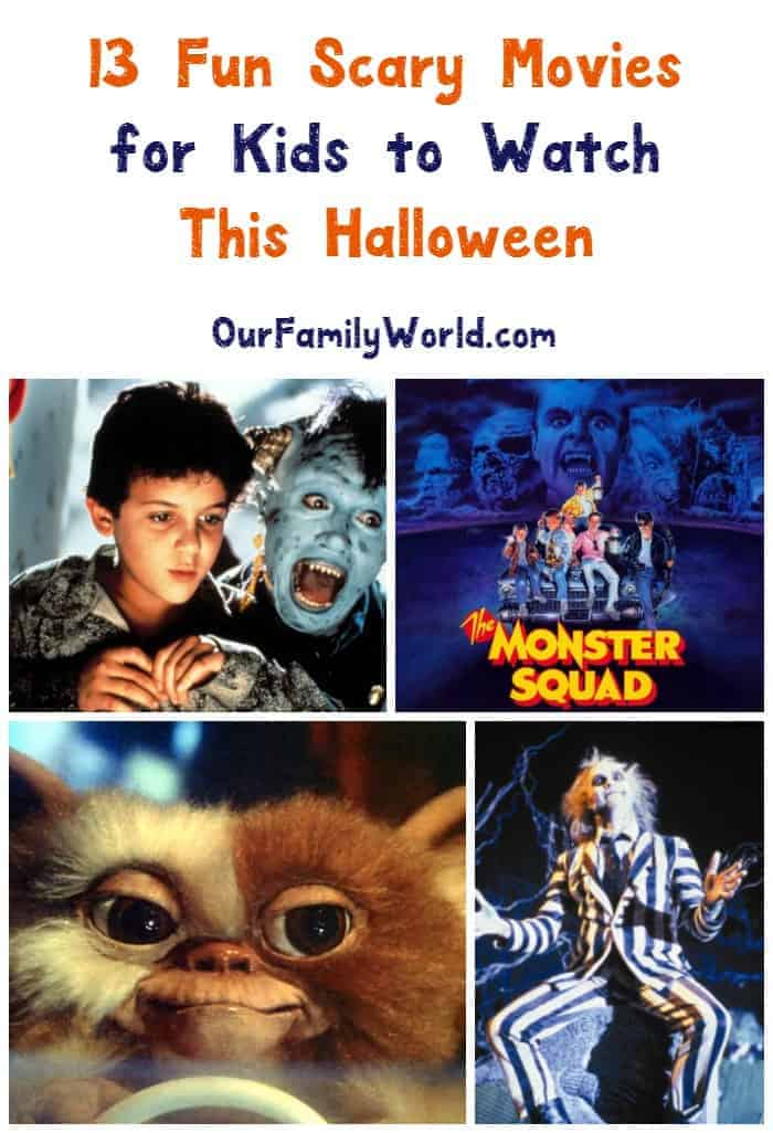 Scary yet appropriate horror movies for kids to watch this halloween