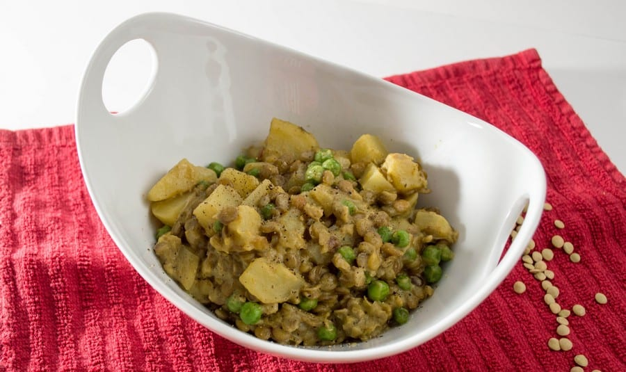 Need an easy vegetarian dinner recipe with a bit of a kick? Try our one pot curried lentil!