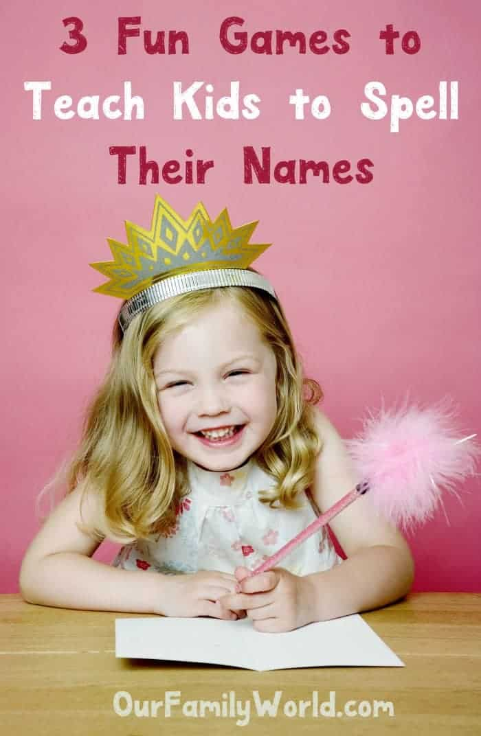 Spelling names is easy with these parenting tips and fun games! Check them out & help your kids get their monikers right!