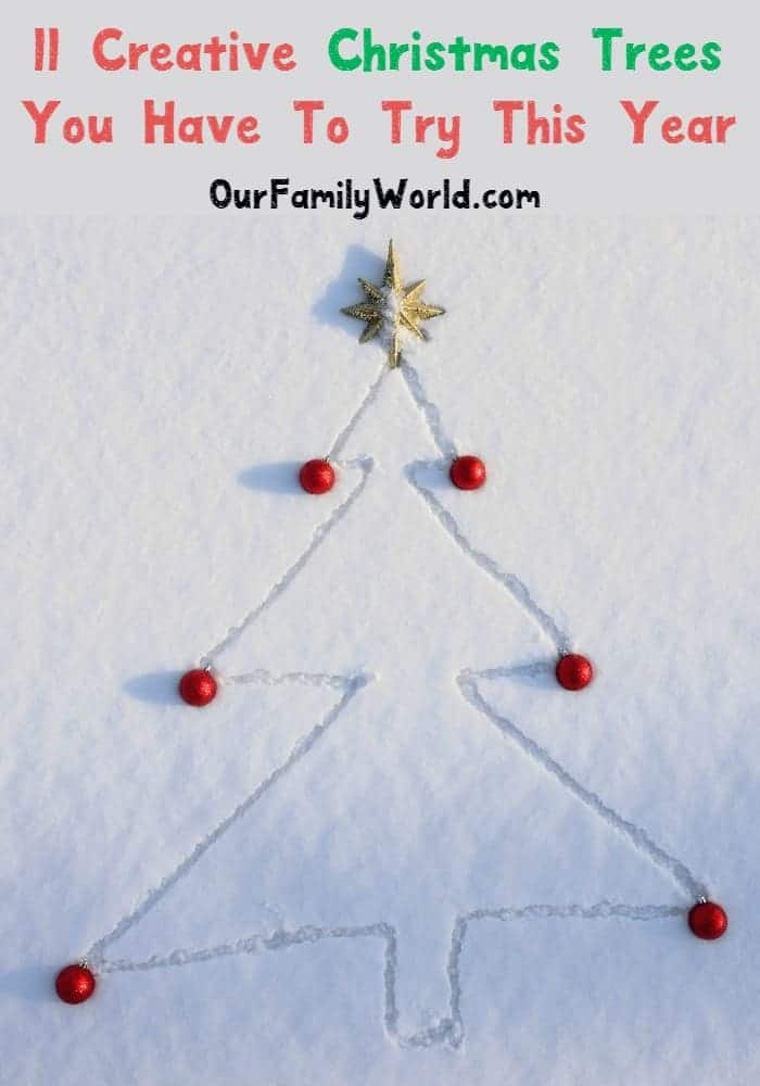 Creative Christmas trees will surely get you into the holiday spirit! Get ready to sing fa la la with these simple but clever ideas!