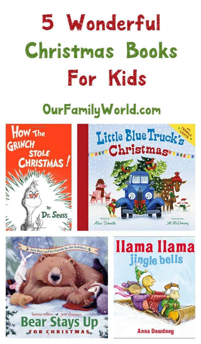 We're taking some of the stress out of your holiday shopping by sharing with you some wonderful Christmas books for kids! Check them out!