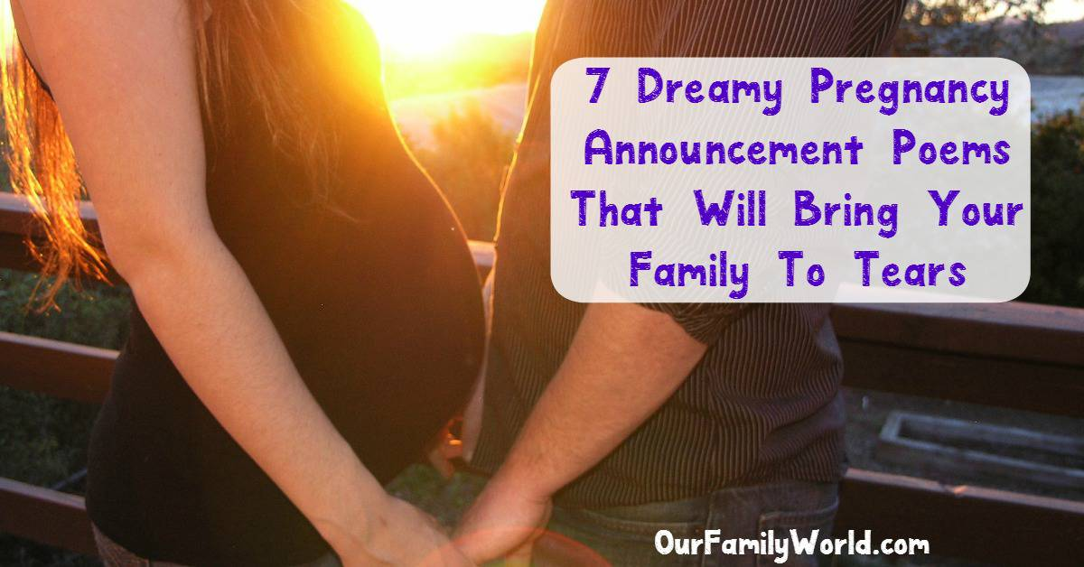 7 Dreamy Pregnancy Announcement Rhymes and Poems – Baby Announcement Poem