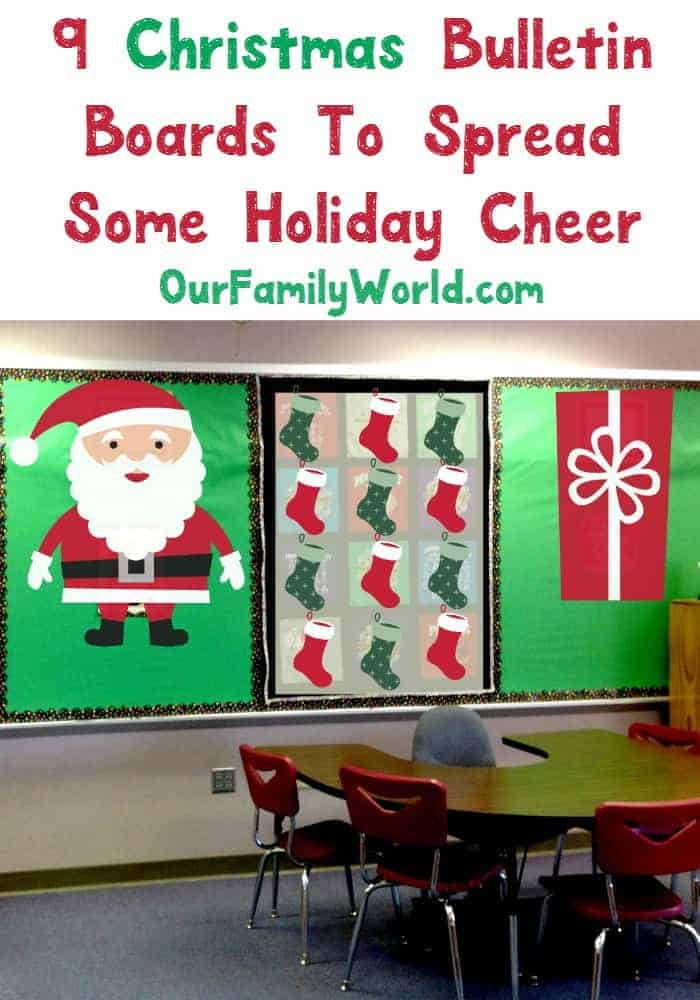 9 Christmas Bulletin Boards To Spread Some Holiday Cheer In Apr 2021 Ourfamilyworld Com