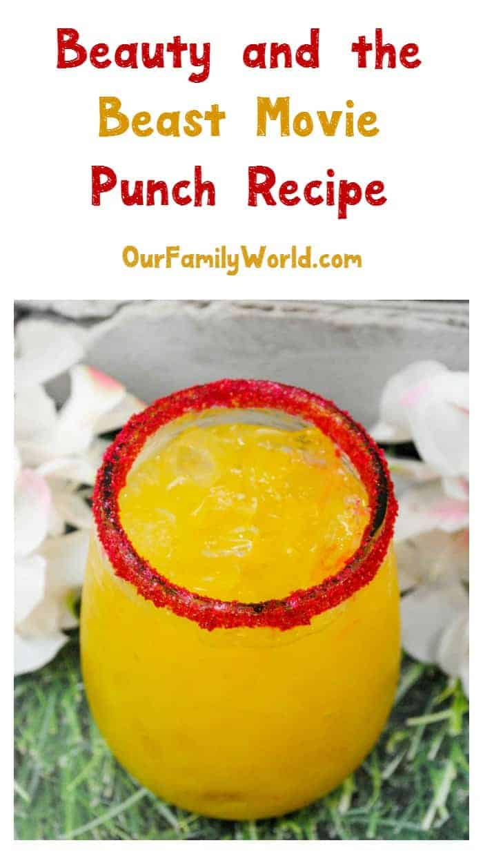 Looking for a kid-friendly non-alcoholic drink recipe that celebrates your love of all things Disney? Whip up this super easy Beauty and the Beast punch!