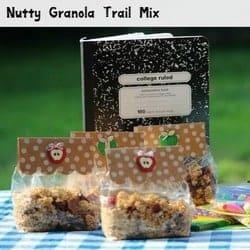 Back to School Snacks: Nutty Granola video recipe tutorial