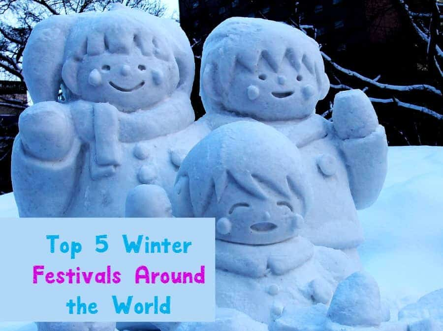 Looking for a unique family vacation idea for the holiday break? Check out the top 5 most spectacular winter festivals around the world!