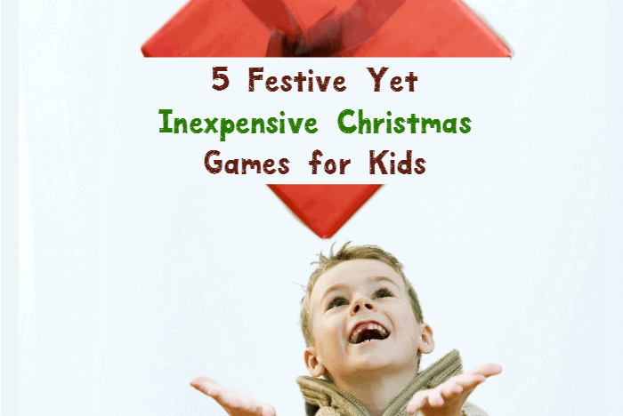 Need some fun Christmas games for kids? These 5 ideas are festive yet inexpensive and perfect for all ages! Check them out!