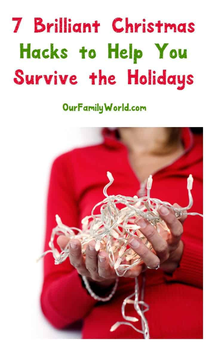 Survive the holidays in tact with these 7 brilliant Christmas hacks that help you save both time and money!