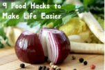 Who could use a few new food hacks to make life simple? I know I could! Check out these 9 tips & tricks to save time and money in the kitchen!