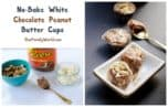 Get ready to say YUM! These REESE Spreads No-Bake White Chocolate Peanut Butter Cups look and taste decadent, but they're incredibly easy to make! Get the recipe!