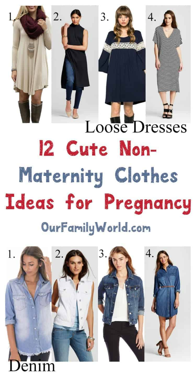 Non maternity clothes for pregnancy 12 ideas we love trying to save money on clothes to cover your ever growing baby bump heres ombrellifo Images