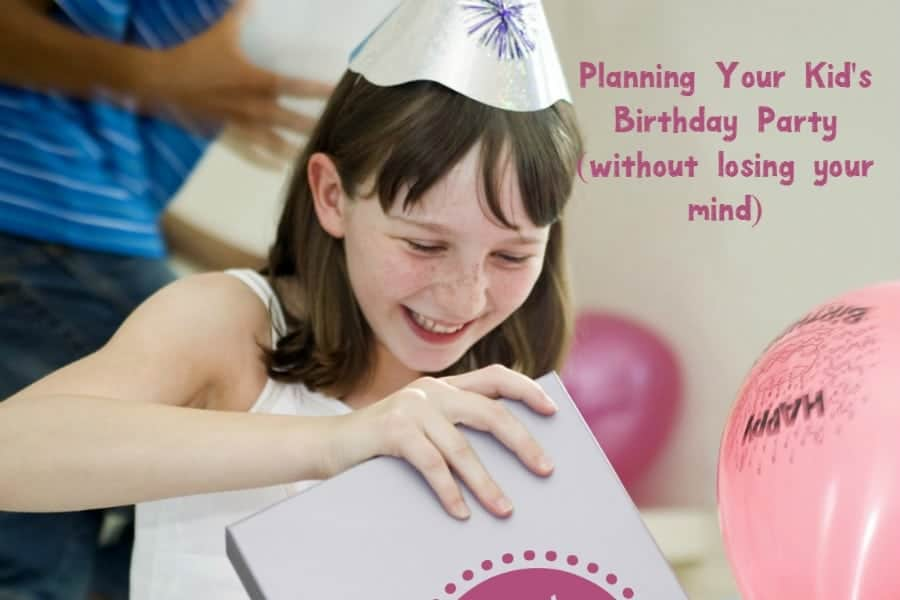 Overwhelmed by the idea of planning your child's birthday party? Check out our favorite tips to plan the perfect bash without losing your sanity!