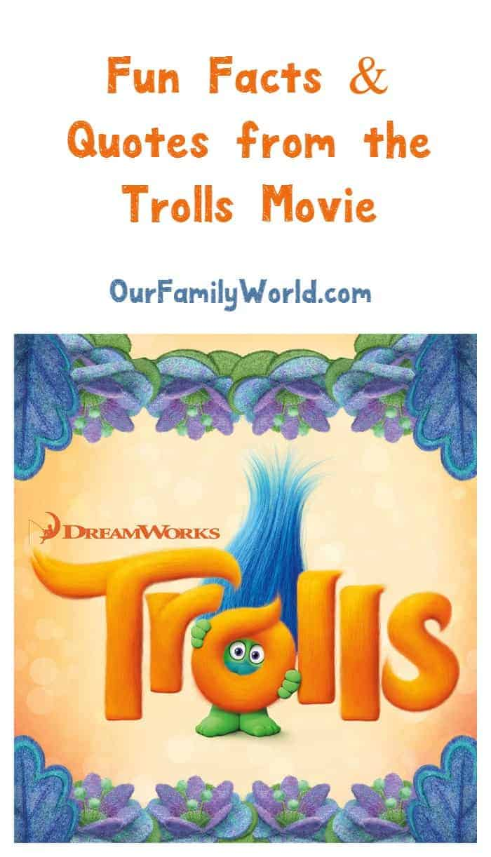 Looking for the coolest Trolls movie 2016 quotes & trivia? We have you covered! Check out everything you want to know about Dreamwork's latest family movie!