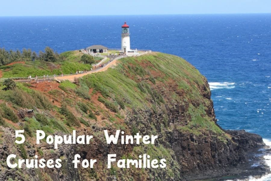 Looking for the best winter vacation ideas? Check out 5 popular family-friendly cruises that are just perfect for the cold months!