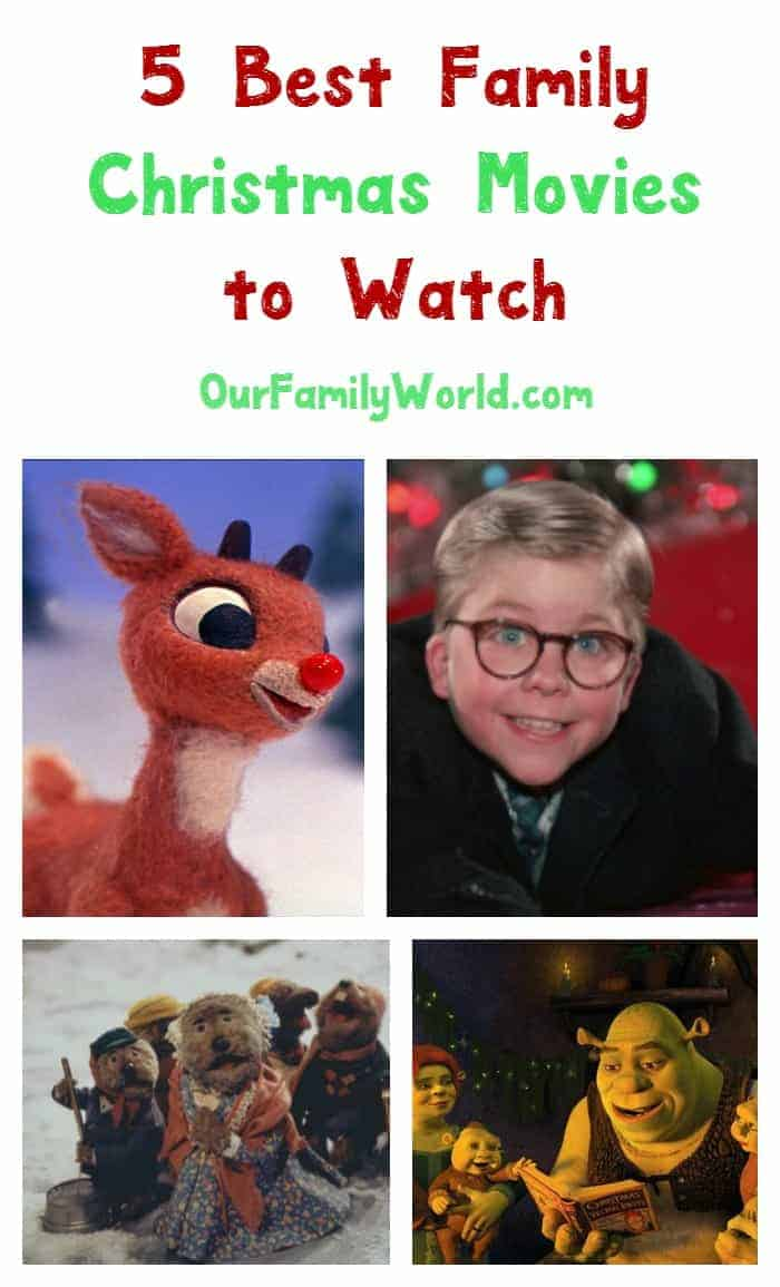 Looking for the best Christmas movies to watch with your family? Check out five of our favorites, from classics to newer hits!