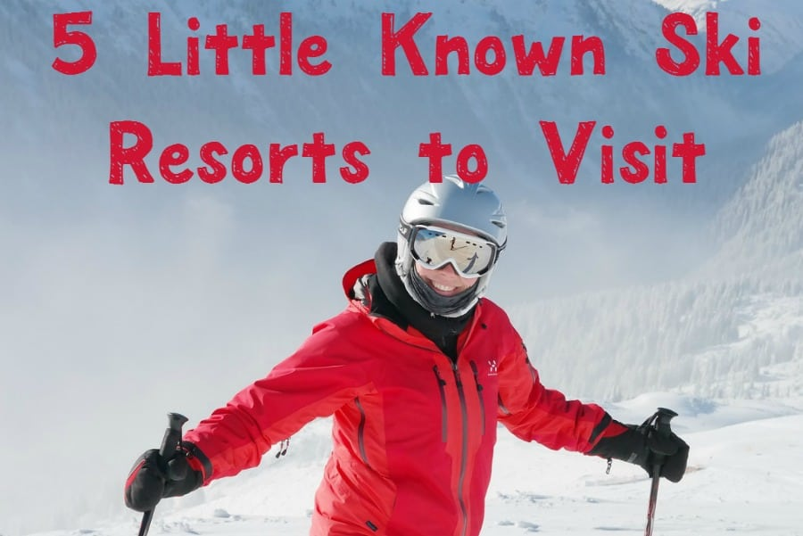 These 5 little-known ski resorts make perfect cheap vacation ideas for families? Check them out and book your next ski getaway!