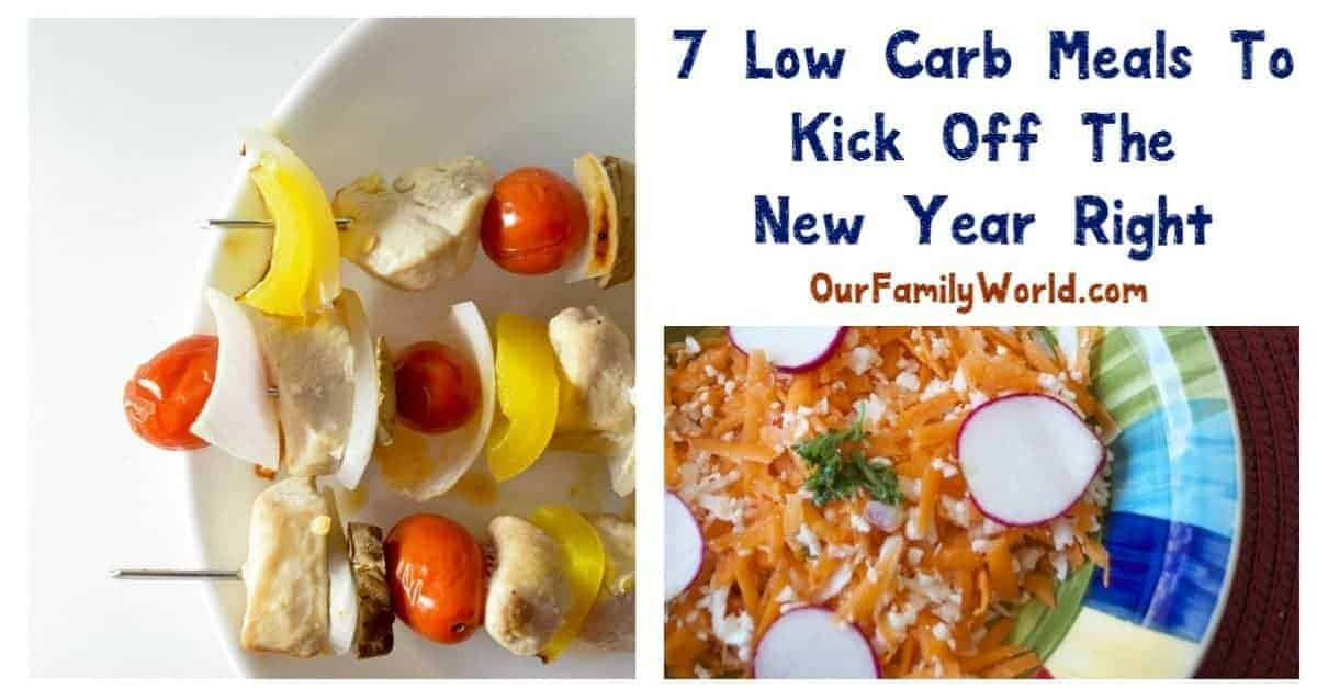 Jumpstart the New Year with our low carb meals. These yummy recipes are tasty and will help you accomplish your goals to be a healthier you!