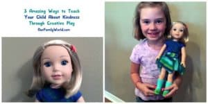 Check out our WellieWishers from American Girl review! We love how these fantastic dolls teach kids kindness through creative play!