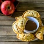 Amazingly Yummy Apple Pie Empanadas with Caramel Dipping Sauce Recipe